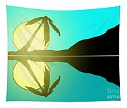 Tropical Sunrise Number 5 Tapestry