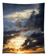 Tropical Sunset Tapestry