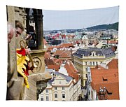 Trumpeter - Prague Old Town Square Tapestry