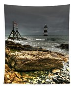 Trwyn Du Lighthouse Tapestry