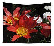 Tulips And Daisies Tapestry
