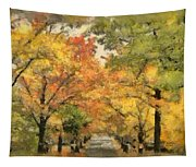 Tunnel Of Color Tapestry