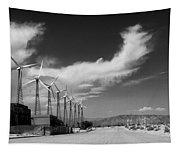 Turbine Town Palm Springs Tapestry