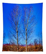 Twin Trees At South Platte Park Tapestry