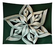 Twisted Paper Christmas Star Tapestry
