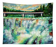 Two Bridges And A Falls 2          Tapestry