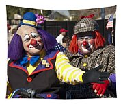 Two Clowns Tapestry