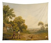 Two Gentlemen Going A Shooting Tapestry