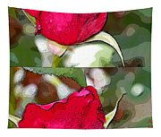 Two Rose Buds Tapestry
