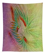Two Tone Frac Abstract Tapestry