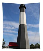 Tybee Island Lighthouse On Beautiful Day Tapestry