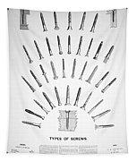 Types Of Screws, C1885 Tapestry