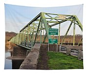 Uhlerstown Frenchtown Bridge Tapestry