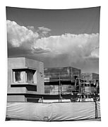 Under Construction Bw Palm Springs Tapestry