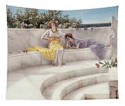 Under The Roof Of Blue Ionian Weather Tapestry