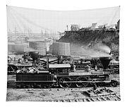 Union Locomotive, C1864 Tapestry