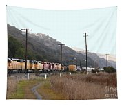 Union Pacific Locomotive Trains . 7d10558 Tapestry