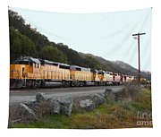 Union Pacific Locomotive Trains . 7d10564 Tapestry