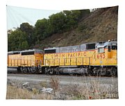 Union Pacific Locomotive Trains . 7d10572 Tapestry