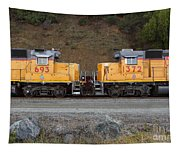 Union Pacific Locomotive Trains . 7d10573 Tapestry