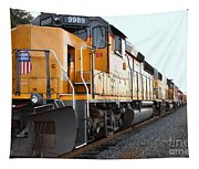 Union Pacific Locomotive Trains . 7d10588 Tapestry