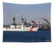 Uscgc Boutwell Tapestry