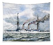 Uss Boston, 1890 Tapestry