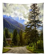 Vail Country Road 1 Tapestry