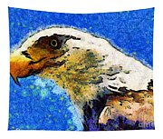 Van Gogh.s American Eagle Under A Starry Night . 40d6715 Tapestry