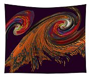 Variegated Abstract Tapestry