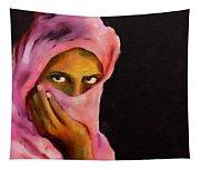 Veiled Beauty Tapestry