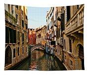 Venice Waterway Tapestry