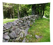 Vermont Stone Wall Tapestry