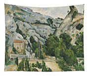 Viaduct At L Estaque Painting By Paul Cezanne