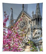 Vibrant Cathedral Tapestry