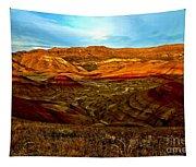 Vibrant Hills Tapestry