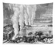 Victoria Falls, C1860 Tapestry