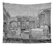 Victorian Bedroom, 1884 Tapestry