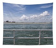 View From Across The Bay Tapestry