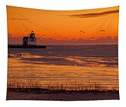 View From Shore Tapestry