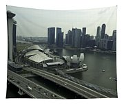 View Of Marina Bay Sands And Other Buildings From The Singapore  Tapestry