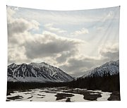 View Of Quill Creek In Kluane National Tapestry