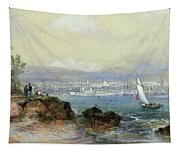 View Of Sydney Harbour Tapestry