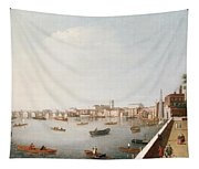 View Of The River Thames From The Adelphi Terrace  Tapestry