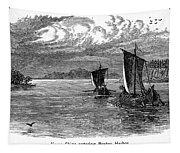 Vikings: North America Tapestry