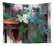 Vine And Feeder Tapestry