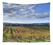 Vines In Fields Tapestry