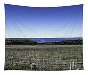 Vineyard Of Leelanau Michigan Tapestry