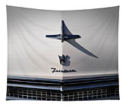 Vintage Ford Fairlane Hood Ornament Tapestry