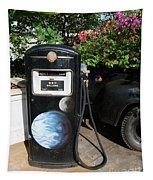 Vintage Gas Pump Tapestry
